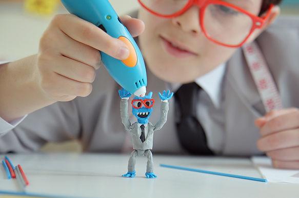 3Doodler Start 3D列印筆 從2D平面圖案變成3D立體創作, 發揮無限創意及想像力。