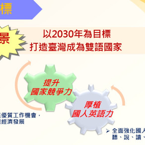 【雙語國家】雙語國家雙語學校,臺北市準備好了!新學年度雙語學校51校、雙語前導學校85校齊步走!