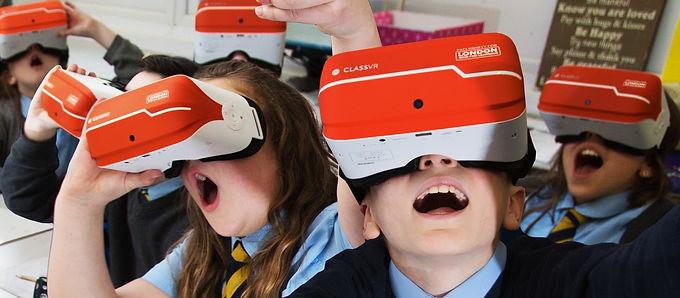 CLASSVR 專為教育量身打造的VR裝置