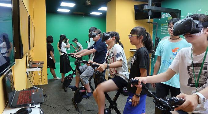 VR體感運動教室設備
