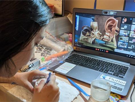 【防疫不停學】青山國中小攜手科教館線上玩博物館 「疫」起宅學習