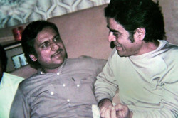 With Ghulam Ali