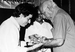 With  lyricist  - Naqsh Lyallpuri
