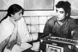 With Ashajee at film [ Achraj ] recordin