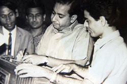 With lyrisist Asrar, Yunus Mallik and Mo