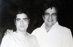 With Dilip Kumar at a function.jpg