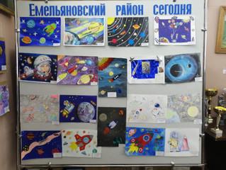 """Конкурс детских рисунков """"Была бы ракета, будут и приключения!"""""""