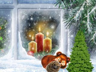 """Конкурс """"Морозный узор на окне"""""""