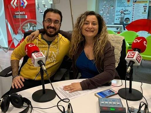 Entrevista en RADIO CV