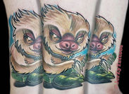 Sloth Cover up