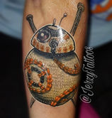 Knitted BB-8