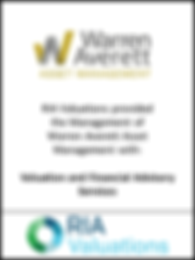 Wealth Management Valuation, Warren Averett