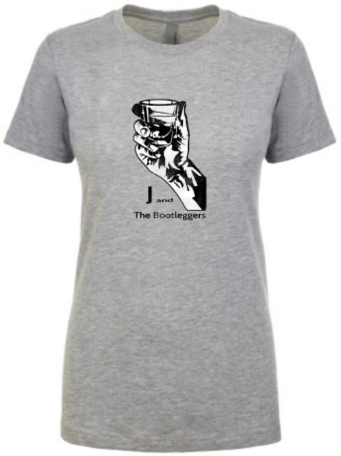 Ladies Heather Gray T-shirt