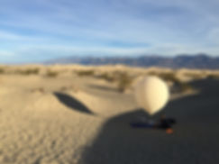 Lancement de ballon epace: Deah Valley