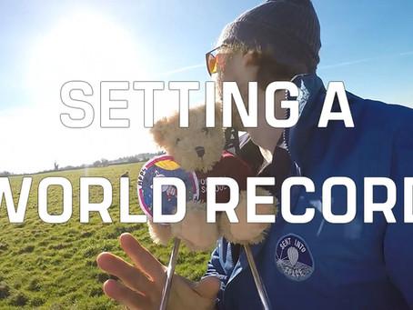 Setting a world record