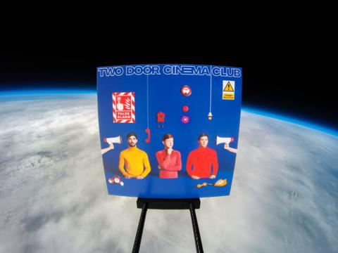 Two door cinema club album in space