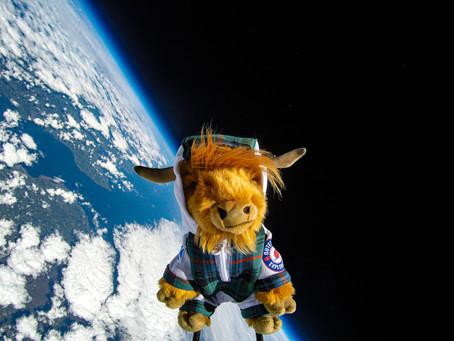 """Visit Scotland - World's first """"Coosmonaut"""""""