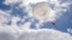 Space balloon launch
