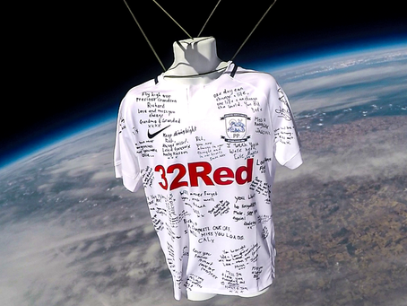 Football shirt in space: a memorial for Richard Harwood