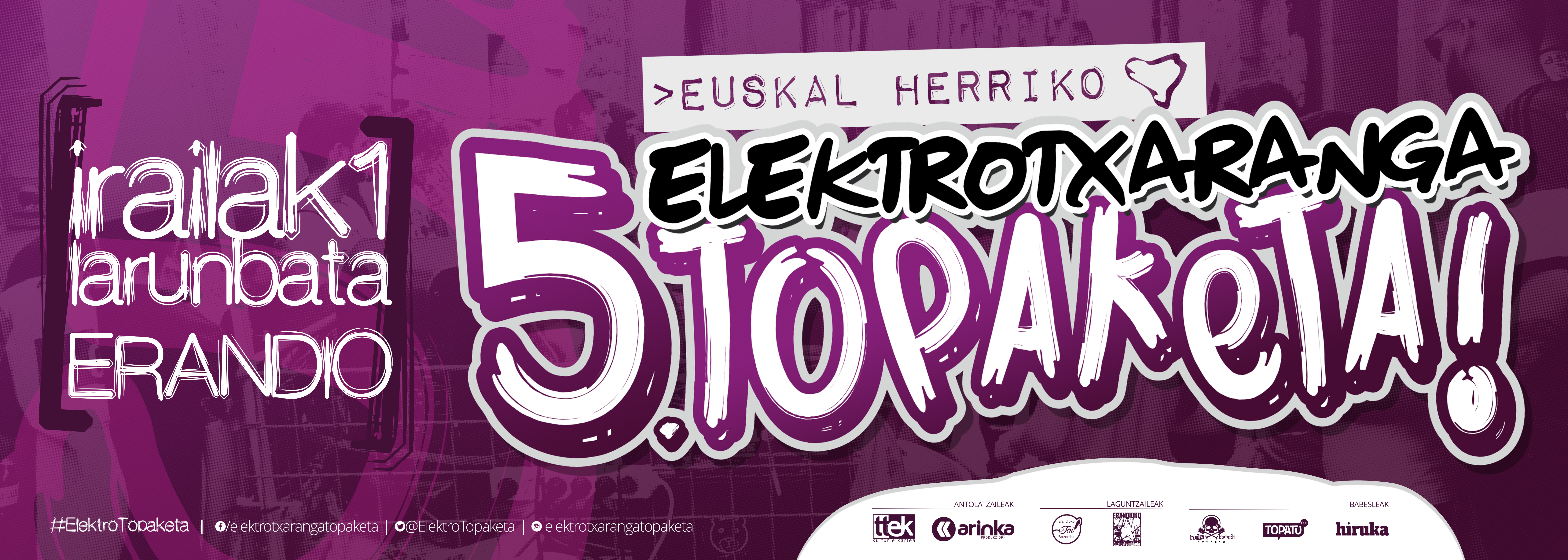 5. Elektrotxaranga Topaketa