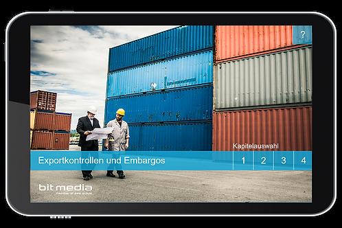 Exportkontrollen und Embargos (Onlinekurs)
