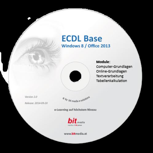 ECDL - Neu Base (4 Module auf Basis Office 2013) (CD/DVD)