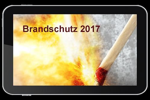 Brandschutz 2017 (Onlinekurs)