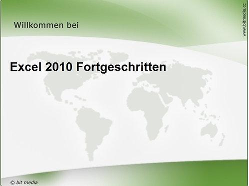 Excel 2010 Fortgeschritten (Onlinekurs)