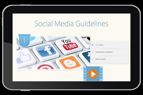 Social Media Guidelines (Onlinekurs)