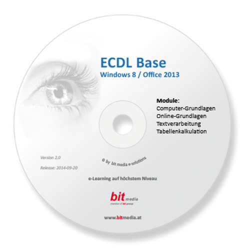 ECDL - Neu Base (4 Module auf Basis Office 2013) (CD/DVD)