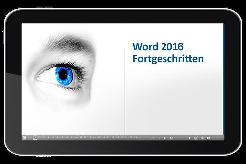 Word 2016 Fortgeschritten (Onlinekurs)