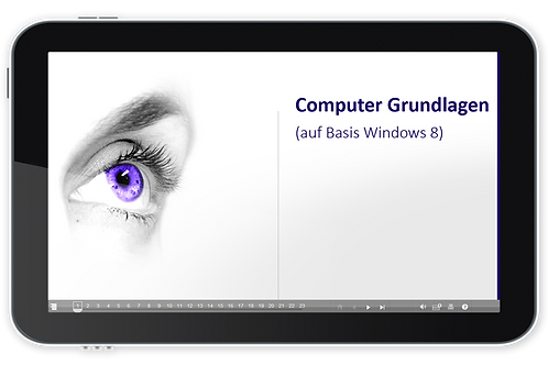 ECDL Modul 01 - Computer Grundlagen (Basis Windows 8) (Onlinekurs)