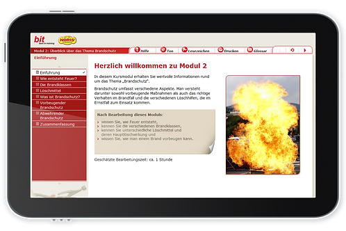 Brandschutz (Onlinekurs)