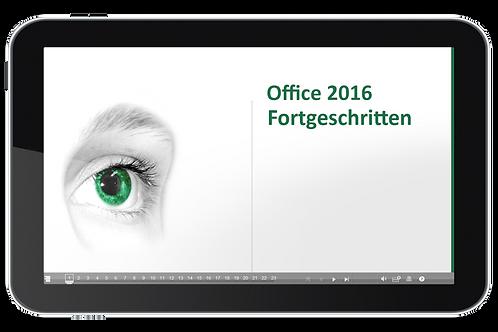 Office 2016 Fortgeschritten (Onlinekurs)