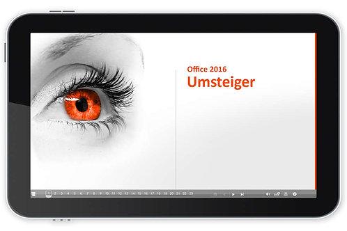 Office 2016 Umsteiger (Onlinekurs)
