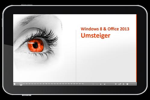 Windows 8 und Office 2013 Umsteiger (Onlinekurs)