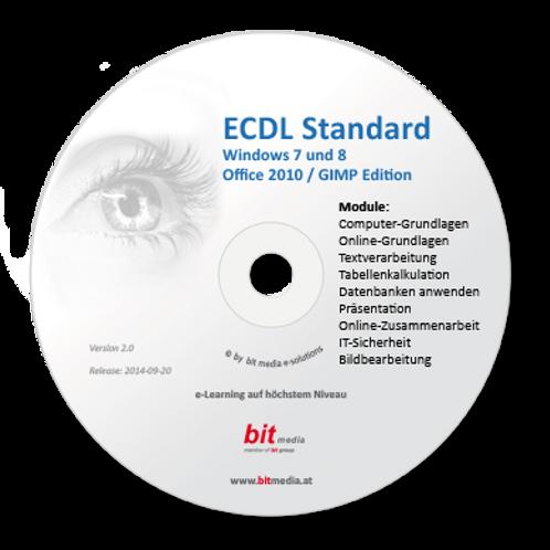ECDL - Neu Standard (9 Module auf Basis 2010) (CD/DVD)