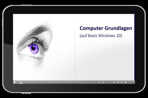 ECDL Modul 01 - Computer Grundlagen (Basis Windows 10) (Onlinekurs)