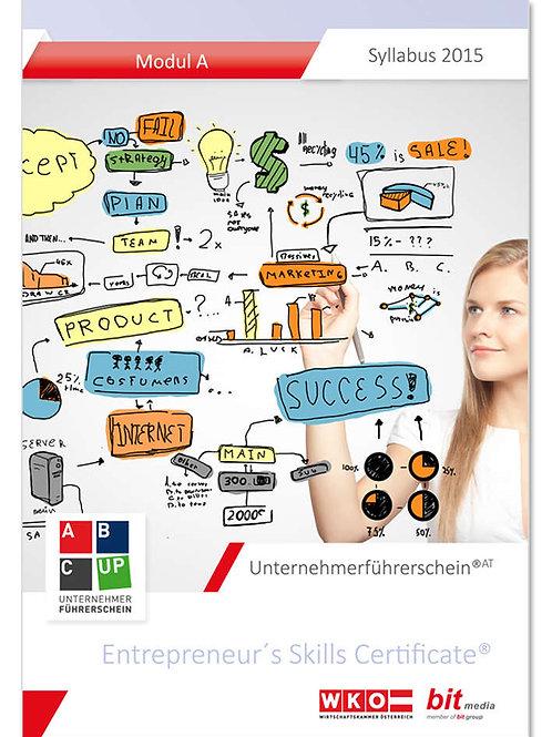 Unternehmerführerschein 'Syllabus 2.0' - Modul A (AT) (Buch)