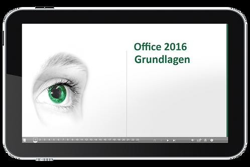Office 2016 Grundlagen (Onlinekurs)