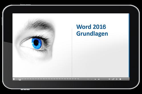 ECDL Modul 03 - Textbearbeitung (Word 2016) (Onlinekurs)