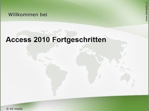 Access 2010 Fortgeschritten (Onlinekurs)