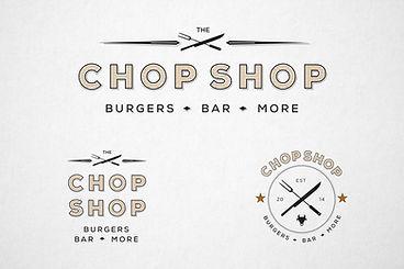The Chop Shop Dark Logo