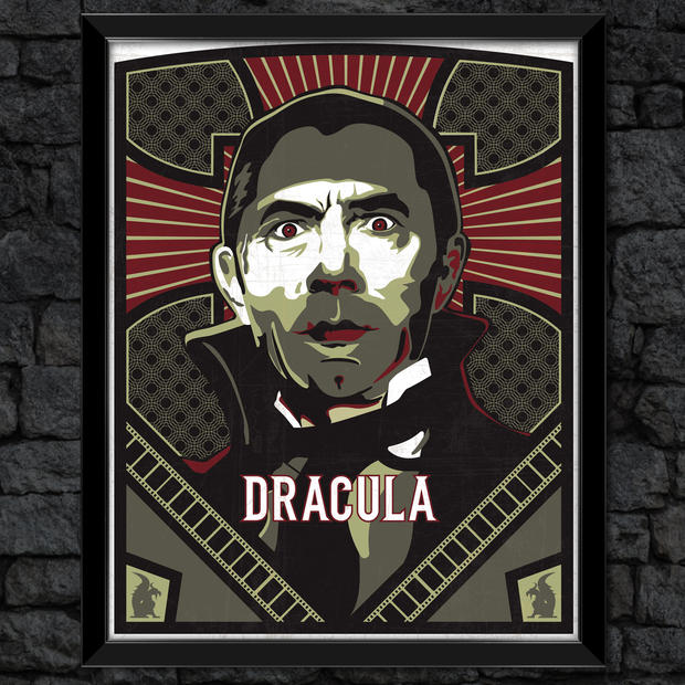 Dracula: Classic Universal Monsters Print