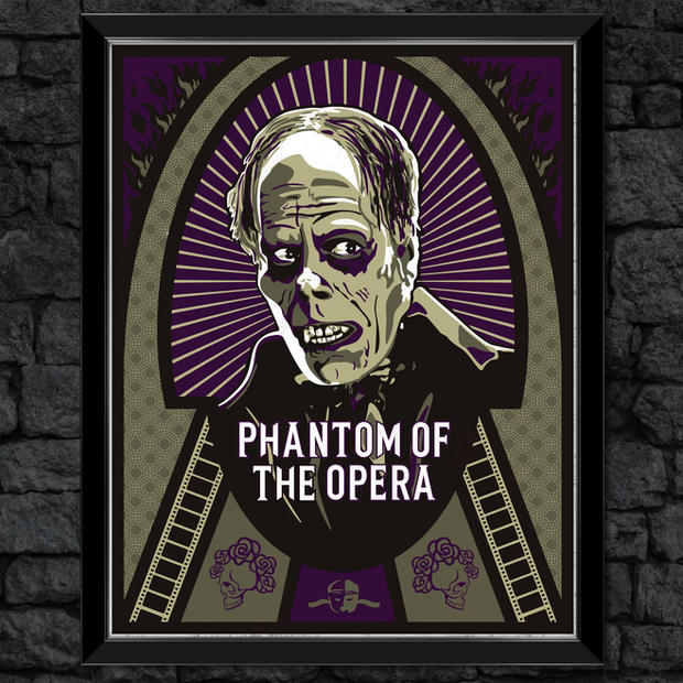 The Phantom of the Opera: Classic Universal Print Monsters