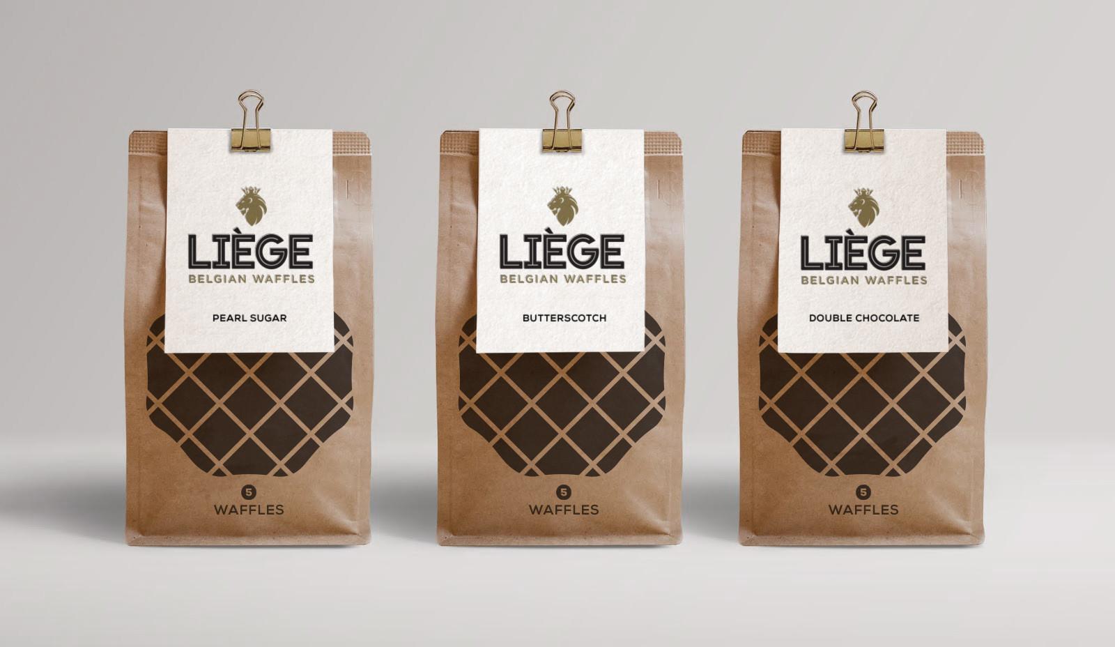 Liege Waffle Farmers Market Packaging