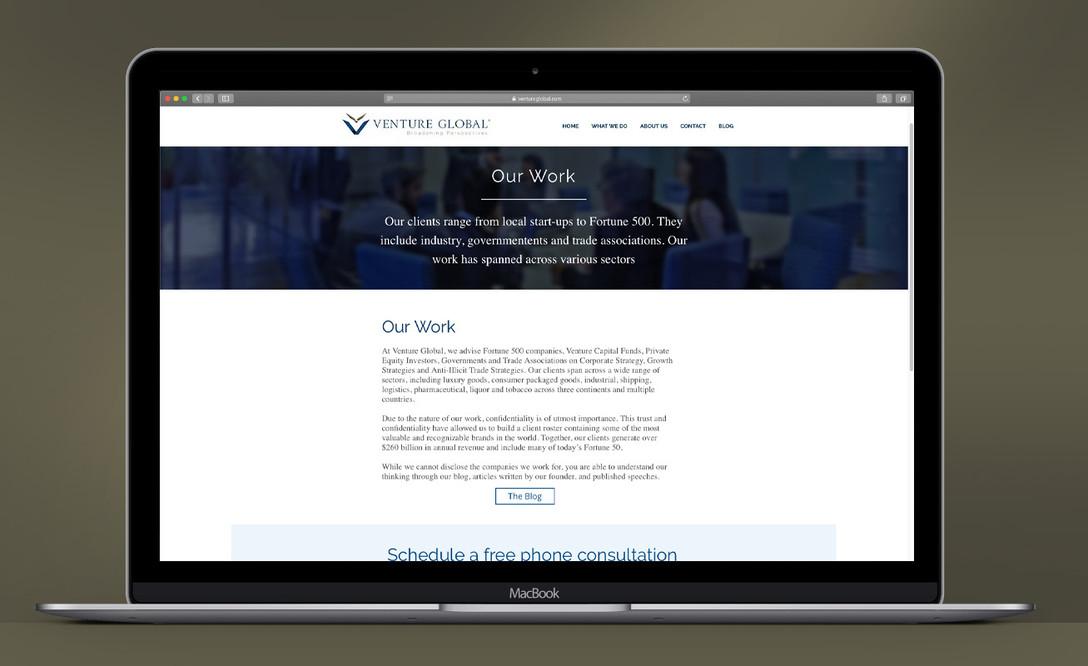 Venture Global Website
