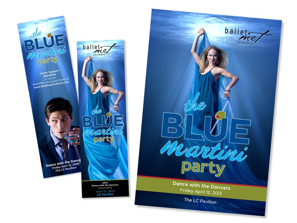 Blue Martini Invite