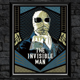 The Invisible Man: Classic Universal Print Monsters