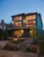 Maison en bois moderne